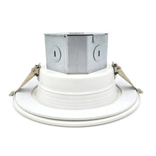 "Load image into Gallery viewer, BODLED 4"" Downlight with J-Box 660 Lumens Warm White"