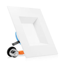 Load image into Gallery viewer, 6 INCH LED SQUARE RETROFIT - RECESSED LIGHT
