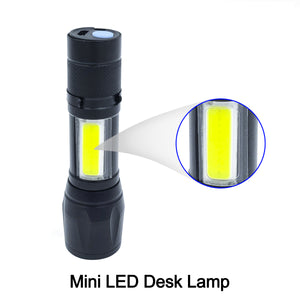 BodLED Rechargeable Mini Flashlight with Desk Lamp