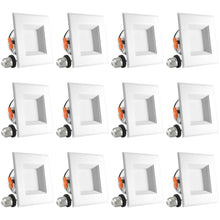 Load image into Gallery viewer, 4 INCH LED SQUARE RETROFIT - RECESSED LIGHT