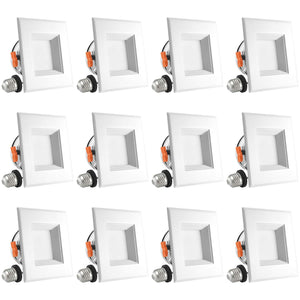 4 INCH LED SQUARE RETROFIT - RECESSED LIGHT