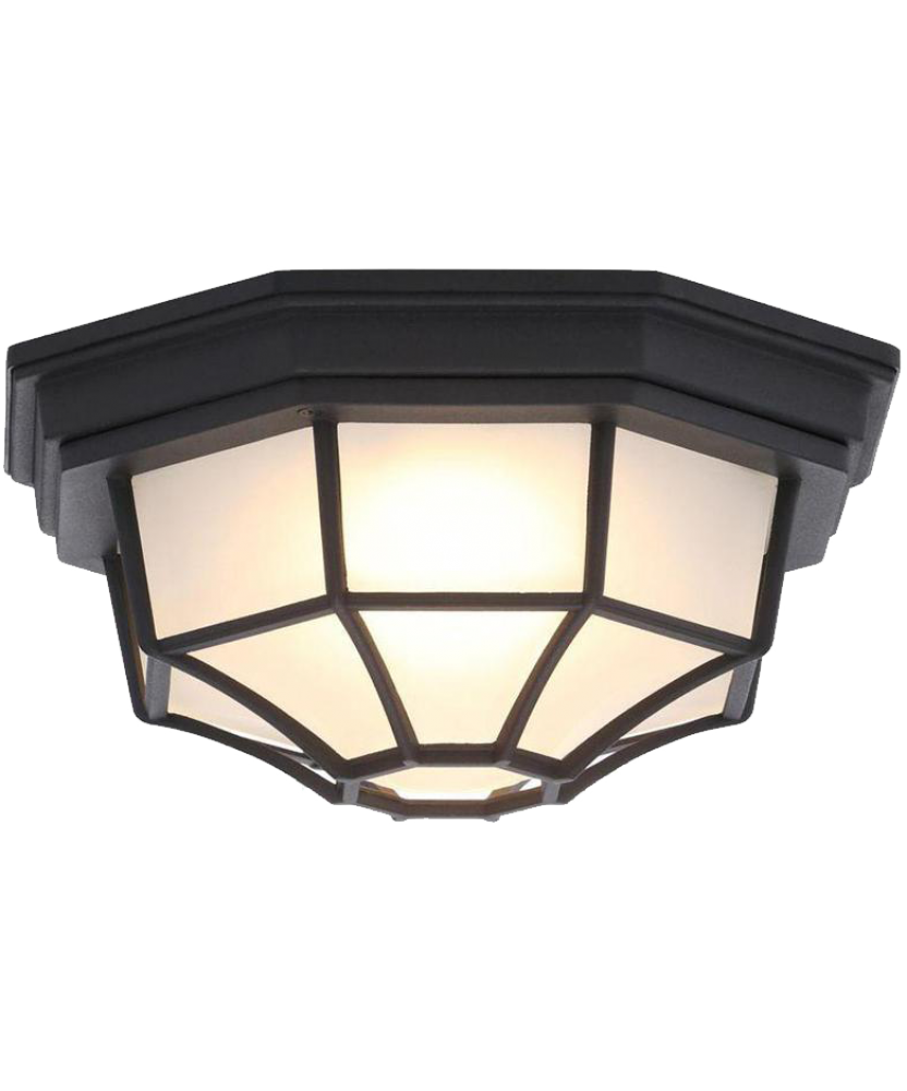 LED OUTDOOR FLUSH MOUNT FIXTURE