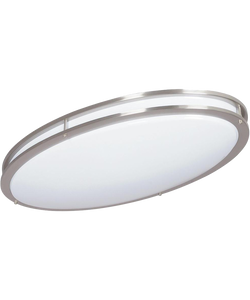 DECORA LED OVAL FLUSH MOUNT
