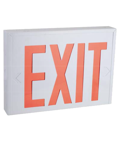"8"" STEEL LED EXIT SIGN"