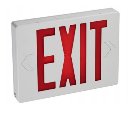 METAL ENCLOSURE NYC APPROVED EXIT SIGN