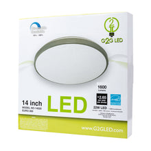 Load image into Gallery viewer, EURO FLUSH MOUNT - DECORATIVE LED CEILING LIGHT