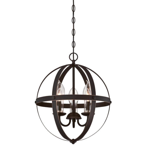 MIRA THREE LIGHT OUTDOOR CHANELIER