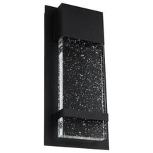 Load image into Gallery viewer, LED Wall Sconce with Rain Glass Panel