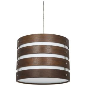 Sunlite LED Wooden Drum Pendant