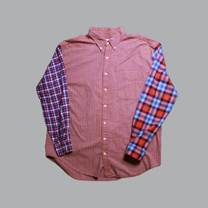 OTW Tri Orange Plaid Shirt