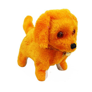 Walking Pet Dog Puppy Kids Toy With Music Light