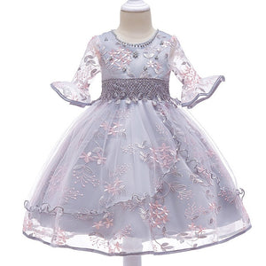 Children clothing Baby Girls Flower Tutu Dress