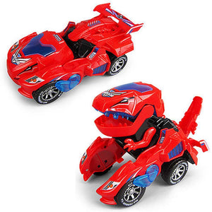New Dinosaur Transformed Electric Toy Car