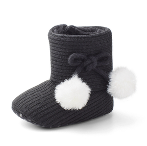 Winter Wool ball warm Baby Shoes