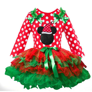 New Year Baby Girl Christmas Dress