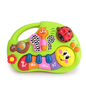 Lights & Music & Learning Stories Toy Musical Instrument for Toddler 6 month