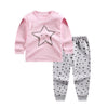 Pink bebes baby cotton suits sets