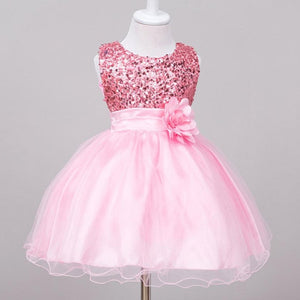 Girls Dresses baby flower lace dress