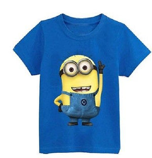 Fashion Boys Girls T Shirt Cartoon