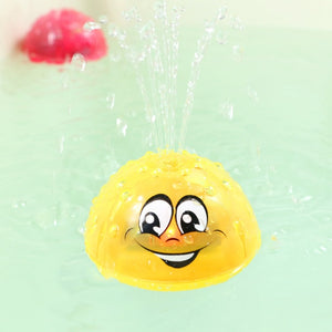 Spray Water Light Rotate with Shower PoolToys for Children