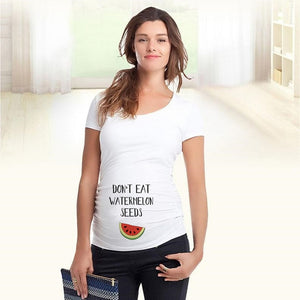 Don't Eat Watermelon Maternity Pregnancy  Funny T-shirt