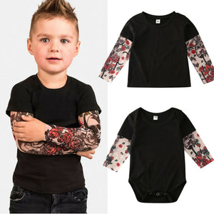 Baby kids Tattoo Sleeve Clothes Toddler Babies