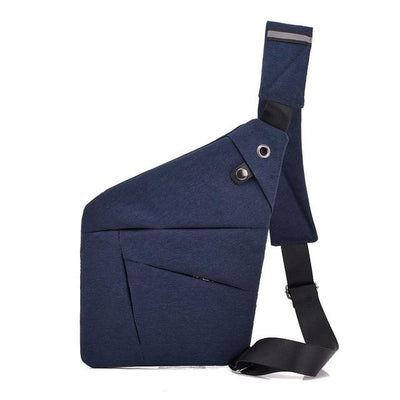 HiBag™ | Anti-Theft Shoulder Bag Bazoom Shop blue (20cm<Max Length<30cm)