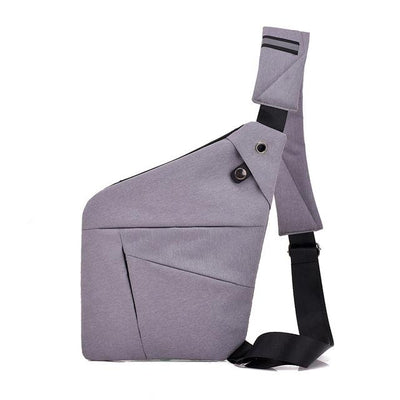 HiBag™ | Anti-Theft Shoulder Bag Bazoom Shop grey (20cm<Max Length<30cm)