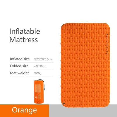 Naturehike Sleeping Mat Bazoom Shop Orange double 195x59x6.5cm