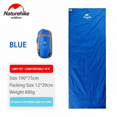 SleepBag™ | Ultra-Light Sleeping Bag (3 Seasons use) Bazoom Shop Blue 190x75cm