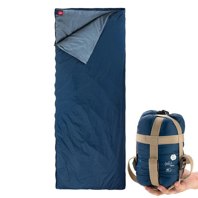 SleepBag™ | Ultra-Light Sleeping Bag (3 Seasons use) Bazoom Shop Navy Blue 190x75cm