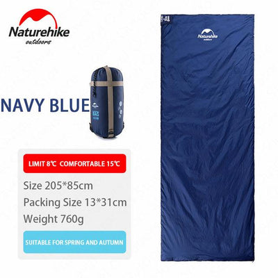 SleepBag™ | Ultra-Light Sleeping Bag (3 Seasons use) Bazoom Shop Navy Blue 205x85cm