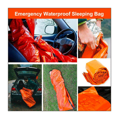 SleepBag® - Emergency Waterproof Sleeping Bag Bazoom Shop