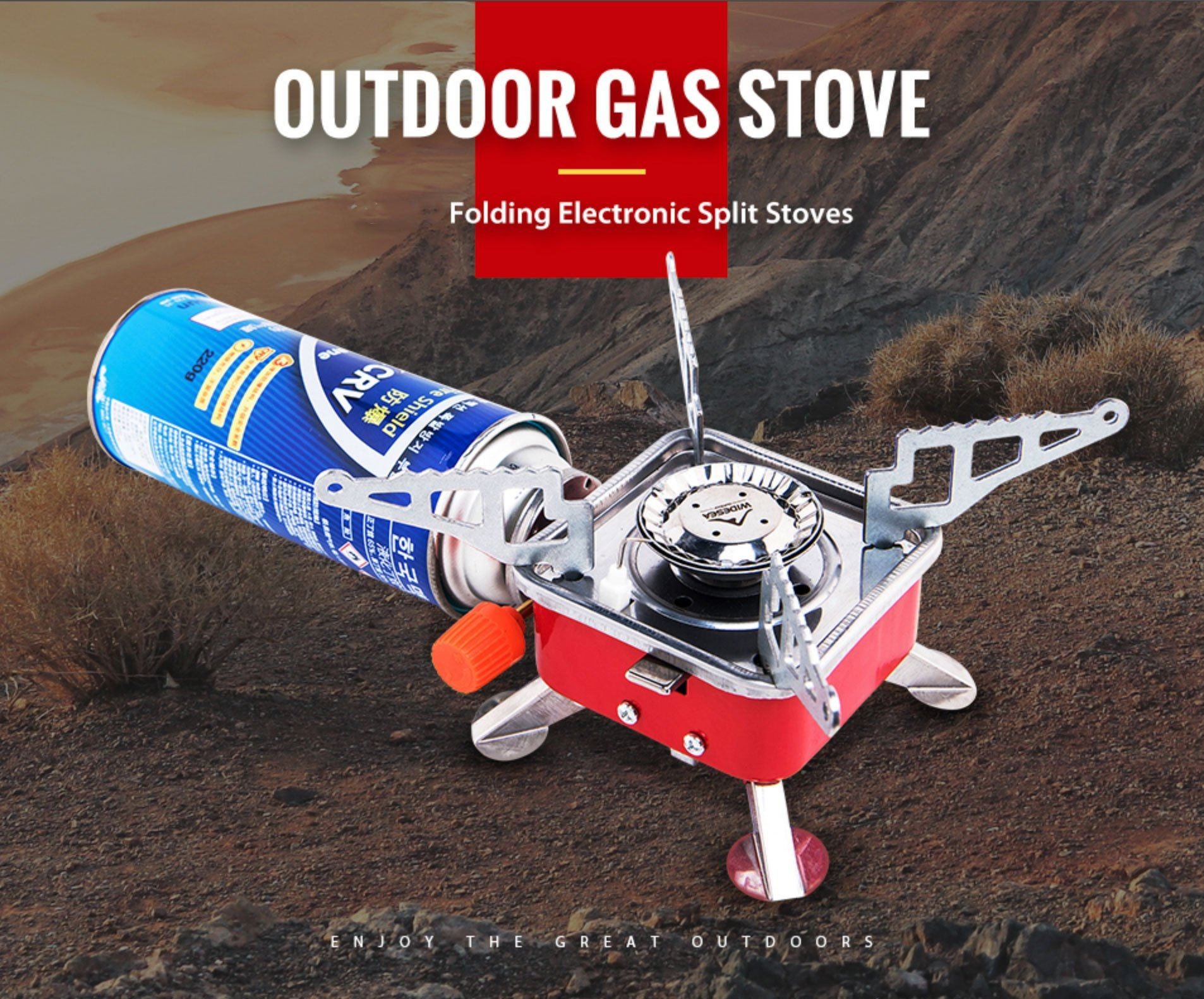 Windproof Foldable Stove Burner | 4000W Bazoom Shop