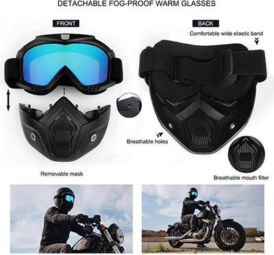 X-Mask| Riding Mask Waterproof Windproof Anti-Fog Bazoom Shop