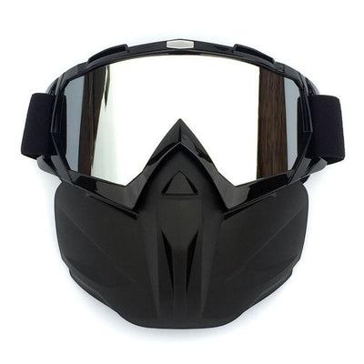 X-Mask| Riding Mask Waterproof Windproof Anti-Fog Bazoom Shop Black