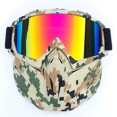 X-Mask| Riding Mask Waterproof Windproof Anti-Fog Bazoom Shop camouflage