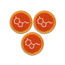 Happy Attack Merit Badge Set of 3