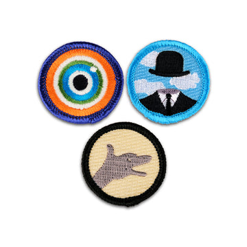 Magic Bag Merit Badge Set of 3