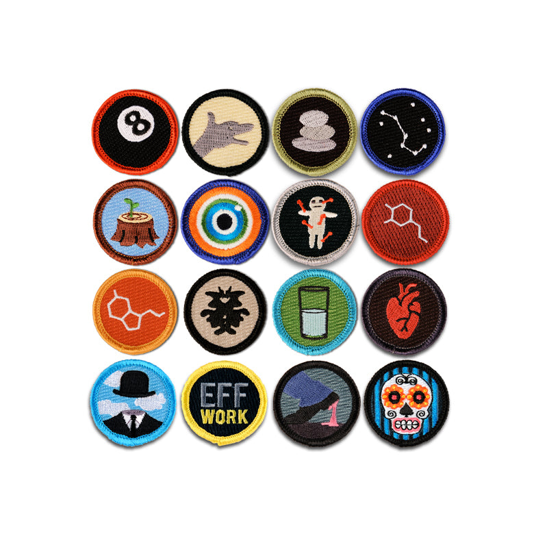 Now You're Just Showing Off Merit Badge Set of 16