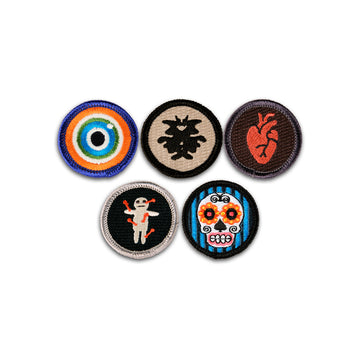 SALE! Midnight Hour Merit Badge Set of 5