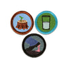 You Can Do It Merit Badge Set of 3