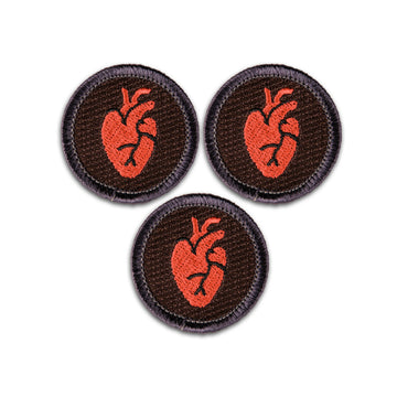 You Gotta Have Heart Merit Badge Set of 3