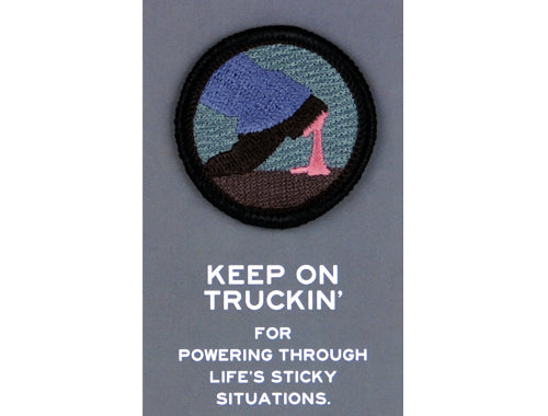 Keep on Truckin' Merit Badge