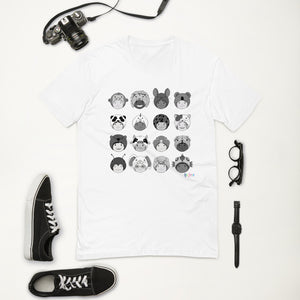 """Animal Hat Kiddos"" Short Sleeve T-shirt"