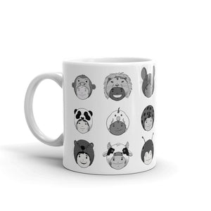 """Animal Hat Kiddos"" Mug"