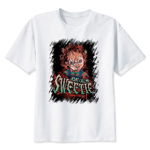 don´t call me sweetie t shirt childs play