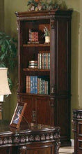 Load image into Gallery viewer, Traditional Rich Brown Bookcase