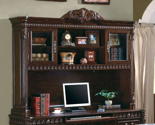 Traditional Rich Brown Hutch
