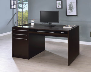 Contemporary Cappuccino Connect-It Computer Desk - 60""